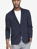 Navy cotton blazer