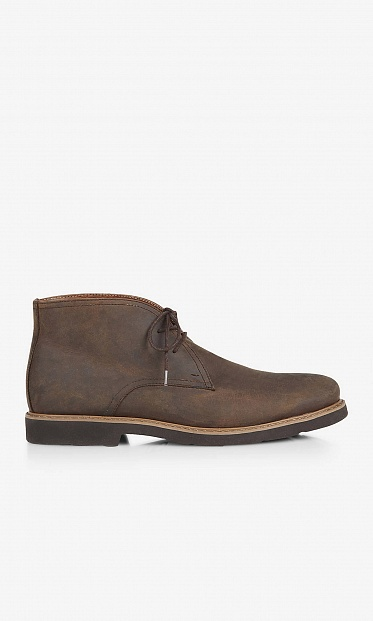 Leather chukka boot