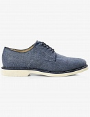 Blue chambray oxford