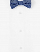 Сhambray bow tie - dot